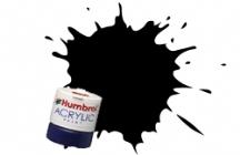 33 BLACK  12ml MATT Acrylic Tinlet