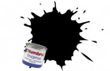85 COAL BLACK 14ml SATIN Enamel Tinlet